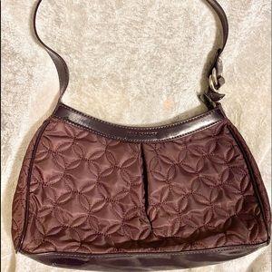 Vera Bradley plum quilted purse bag good condition